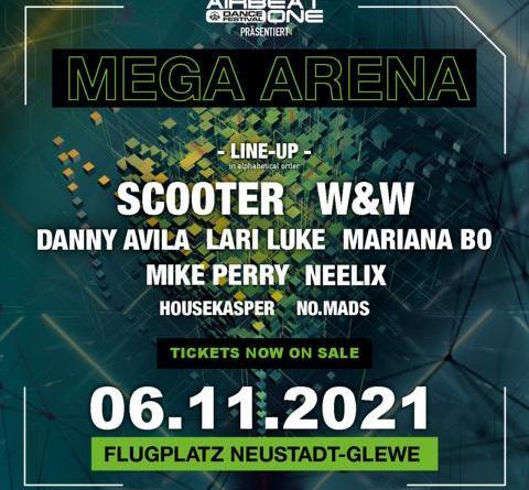 AIRBEAT ONE presents - Scooter und W&W in der MEGA ARENA Neustadt-Glewe