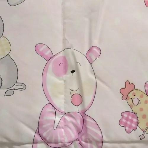 Trapuntina Baby 110x140cm HUGE Rosa-7450