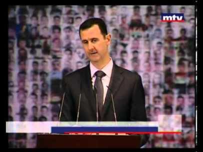 0 Bashar Al Assad demande à Hollande de cesser les violences à Paris.