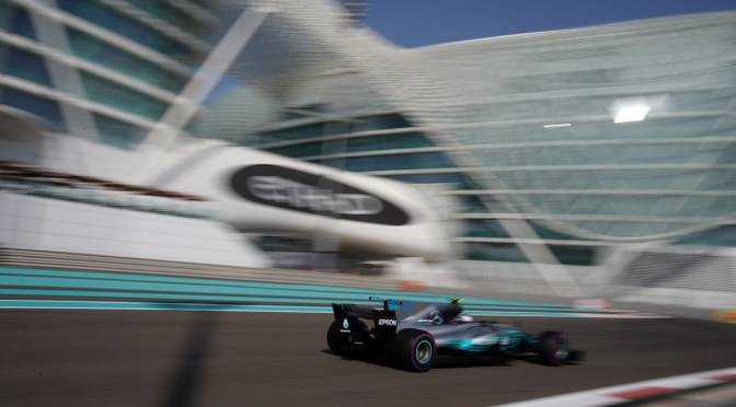 Bottas e la Mercedes chiudono in bellezza ad Abu Dhabi