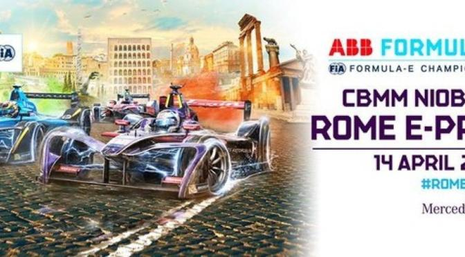 High Voltage Bring- 2018 CBMM Niobium Rome E-Prix presented by Mercedes EQ