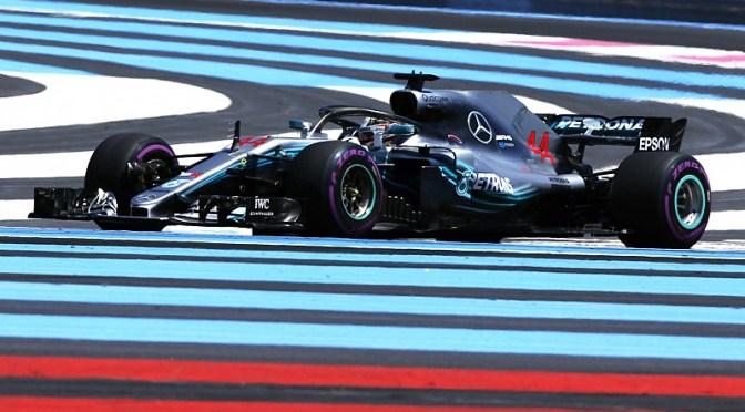 Hamilton vince nel parcheggio di Le Castellet, la Ferrari….