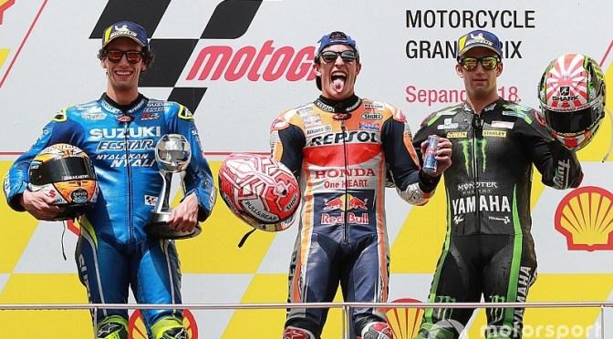 Malaysian MotoGP post Race