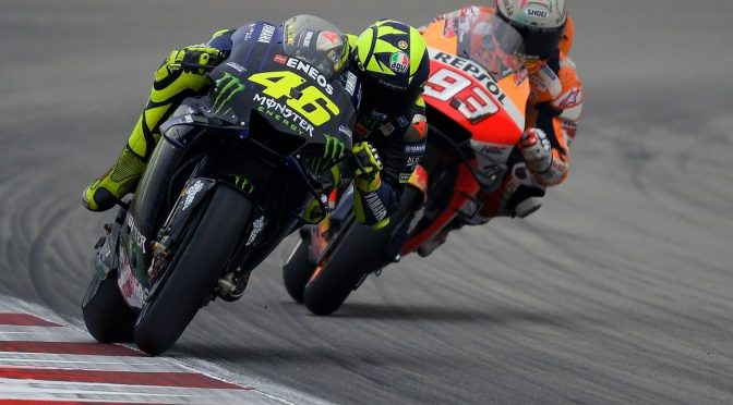 Rossi versus Marquez