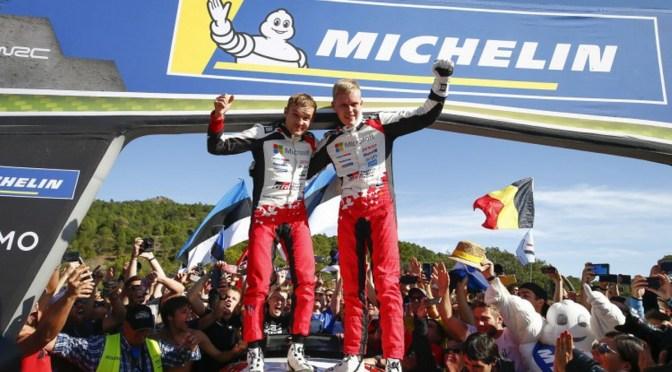 WRC – TANAK E JARVEOJA PONGONO FINE AL REGNO FRANCESE