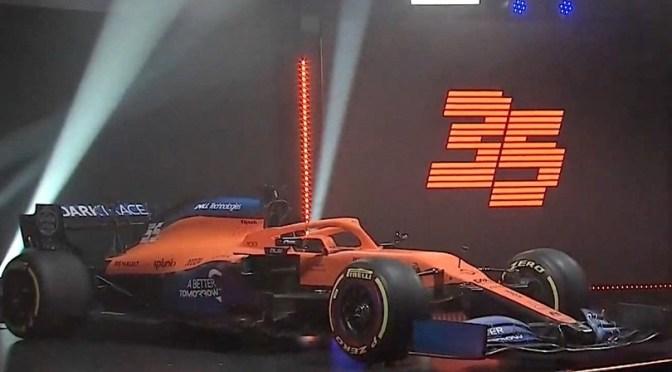 McLaren F1-MCL35