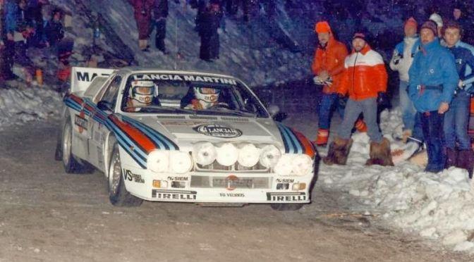 Lancia Rally 037: L'ultima due ruote motrici iridata