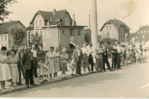 Nordstemmen Bahnübergang Marienbergstraße 1958