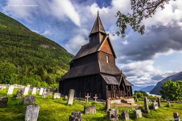 Ставкирка в Урнесе. Норвегия