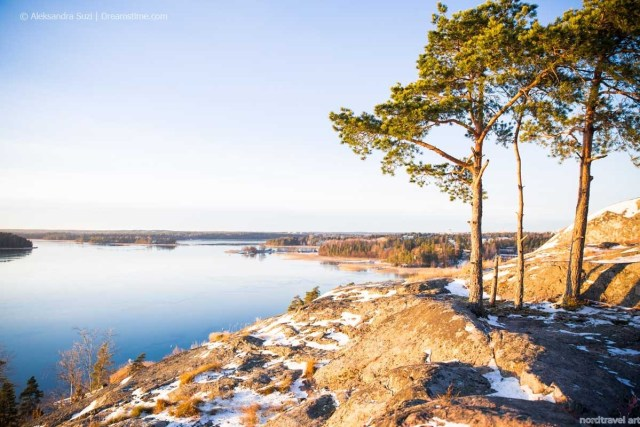 Финляндия. Пейзаж южного побережья.