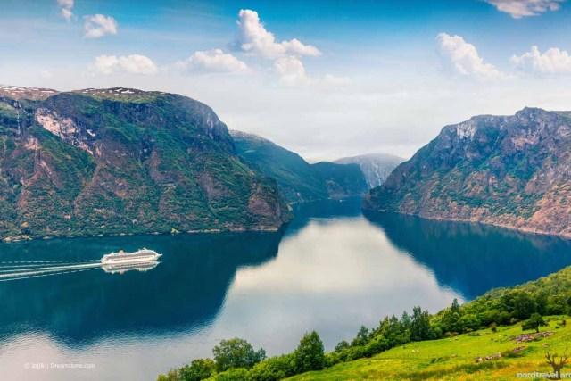 Природа и география Норвегии. Согнефьорд