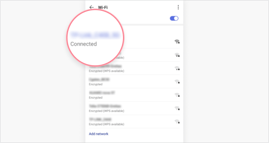 SSID on Android