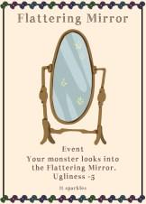 Flattering Mirror card