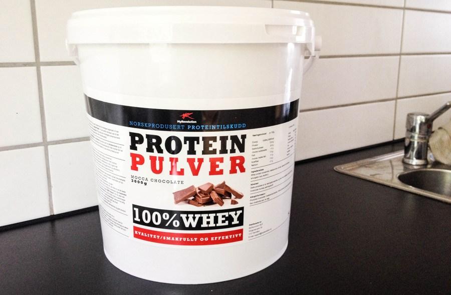 Kosttillskott Proteinpulver
