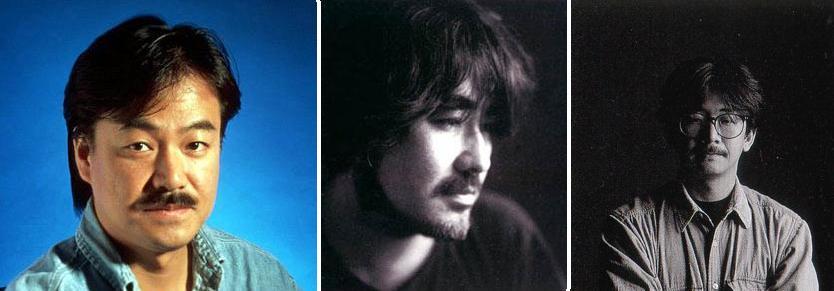 --> Sakaguchi, Amano e Uematsu