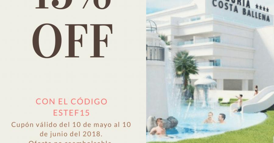 código promocional alegria hotels costa ballena
