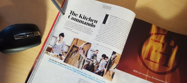 Kitchen Commando - Food&Wine article Atelier Crenn Cookbook