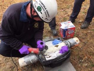 Norfolk County Tech Rescue Team training - 10