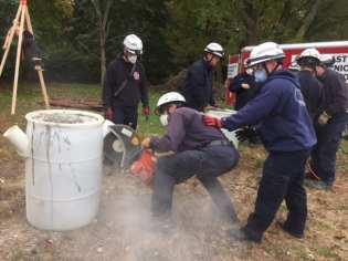Norfolk County Tech Rescue Team training - 12