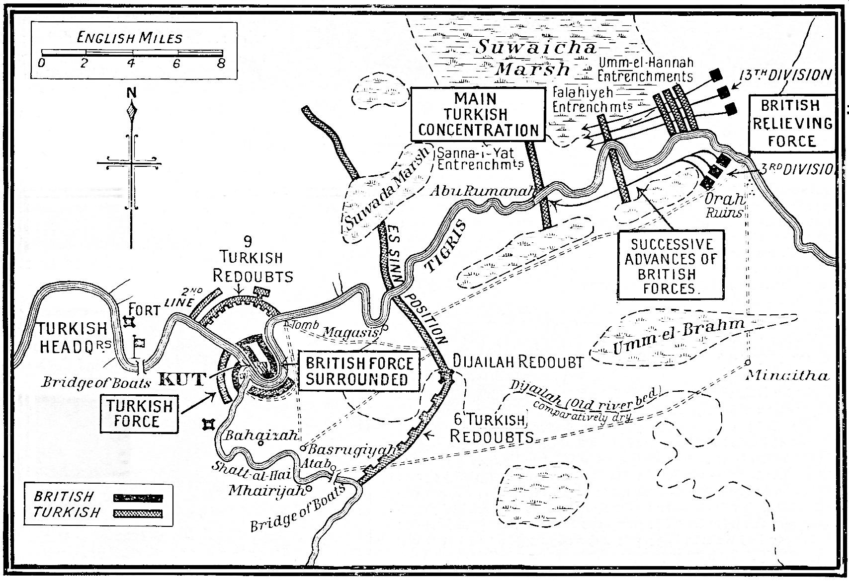 Mesopotamia Norfolk In World War One