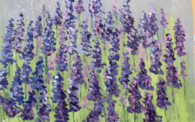 Painting with Frances Feloni