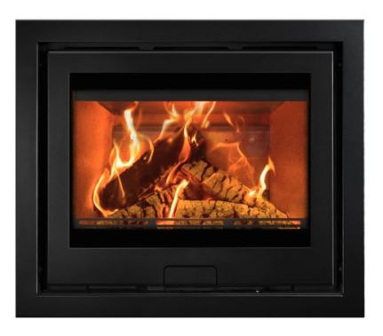 Di Lusso R6 Inset, Wood Burner with a four sided frame