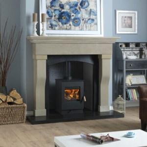 Image of Burley Launde wood burning stove