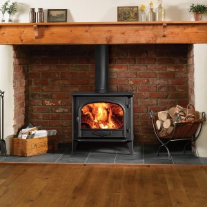 Image of Stockton 11 wood and multifuel stove