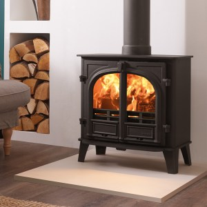 Image of Stockton 5 Wide wood and multifuel stove