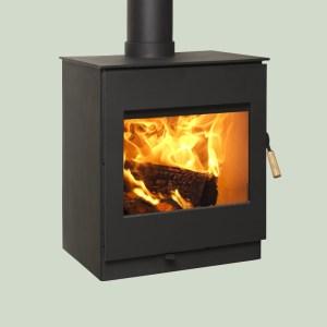 Image of Burley Swithland wood burning stove