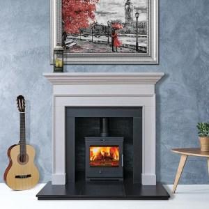 Image of Bohemia X40 Cube ecodesign multifuel stove