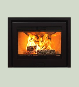 Image of Di Lusso R6 slimline wood burning stove