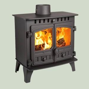Image of Hunter Herald 5 slimline wood and multifuel stove