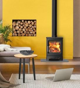 Image of Saltfire Peanut 3 wood burning stove