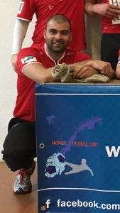 Cupens beste keeper: Lars Furuheim - Holmen Gamlis. Hadde igjennom hele cupen flere gode redninger.
