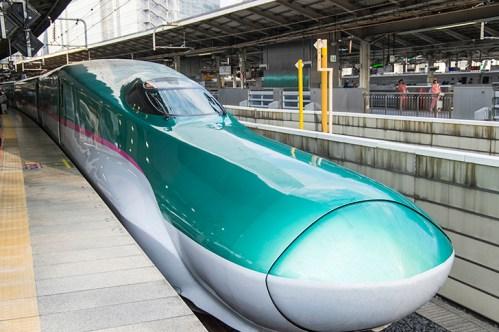 上野駅の北海道・東北新幹線「はやぶさ」乗り場は何番線ホーム?