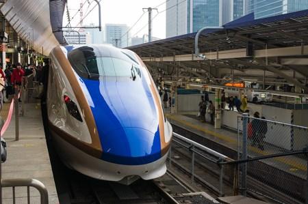 上野駅の北陸新幹線「あさま」乗り場は何番線ホーム?