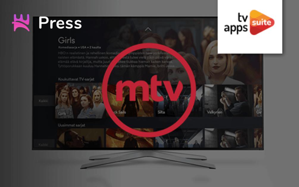 MTV chooses Norigin Media to build Smart TV apps