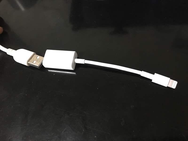 Lightning - USBカメラアダプタを接続 iPhoneでギターのライン録音をする方法! アンプシミュレーターを使って良い音で録る!別撮りが面倒な人へオススメ!