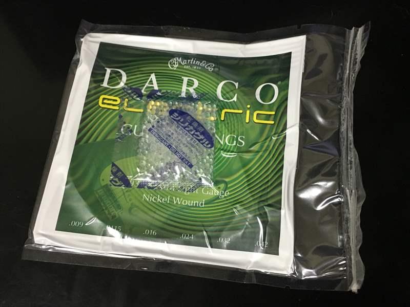 DARCO D9300 09-42 Extra Light Gauge ダルコ エクストラライト エレキギター弦 DARCO D9300 エレキギター弦 500円、真空パック ダダリオ ESXL110、EXL120、EXL110、EXL120+!