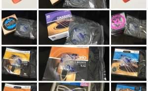 D'Addario(ダダリオ) EJ10 550円、EJ14 550円、EJ26 620円、EJ46 890円、EJ45 890円、アコギ弦、ナイロン弦、DAVA ジャズ ピック 120円、50円ピック