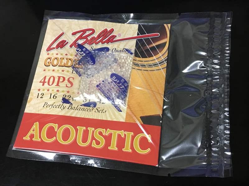 La Bella ラベラ 40PS 900円 12-52 Golden Alloy Light アコースティックギター弦 SIT 0942 560円、Power Groove PN1046  660円、PN942 680円、スターピック 78円、DAWGピック 260円、DARCO D9200 500円、トニーライス弦 975円(税込)、プライムトーン ピック 320円(税込)