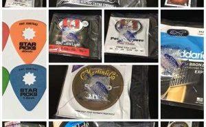 SIT 0942 560円、Power Groove PN1046 660円、PN942 680円、スターピック 78円、DAWGピック 260円、DARCO D9200 500円、トニーライス弦 975円(税込)