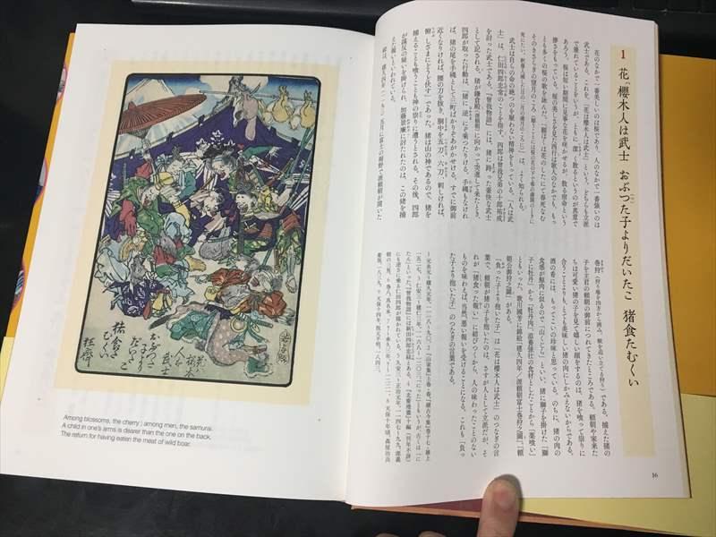 「狂齋百圖」がオールカラーで104図掲載されていること