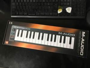 M-Audio Keystation Mini 32 もらっちゃった!
