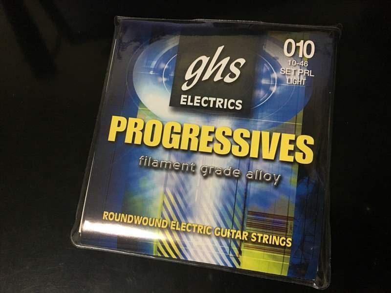 【弦を錆びさせない方法】 – GHS PRL 760円 Progressives プログレッシブ 10-46 –
