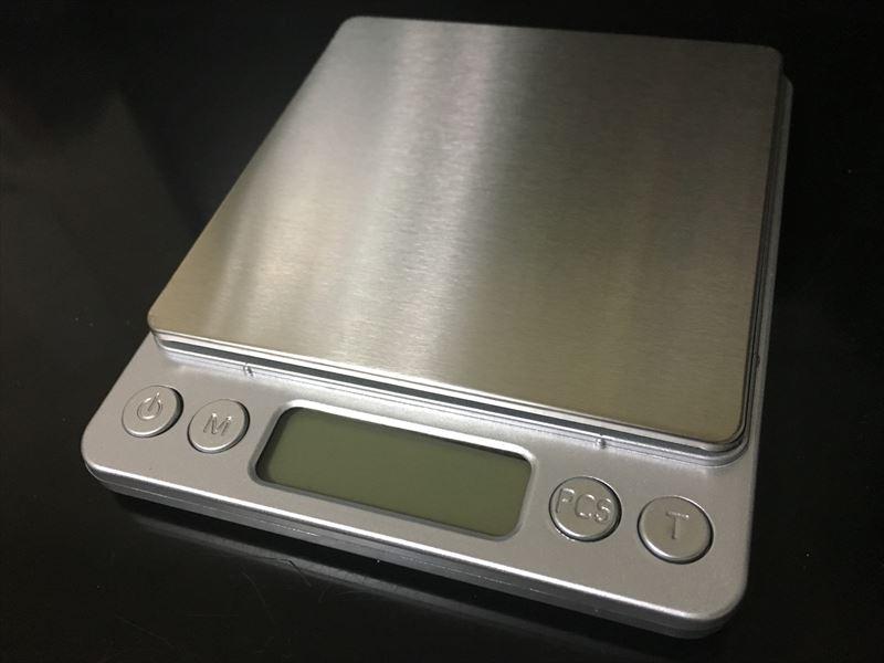 デジタルスケール 電子はかりが超便利! 0.1g~3000gまで測れる小さくて軽い一台は持っておきたい計り!キッチンスケールにも使えます。