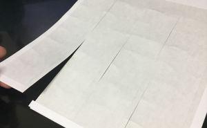 「楽貼ラベル」台紙のミシン目の使いにくさ検証と対処法