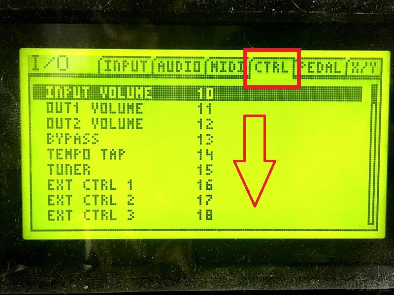下にある LOOPER RECを変更  Axe fx2 Looperを専用コントローラー無しで使う簡単な方法!ギターのアドリブなどに最適!