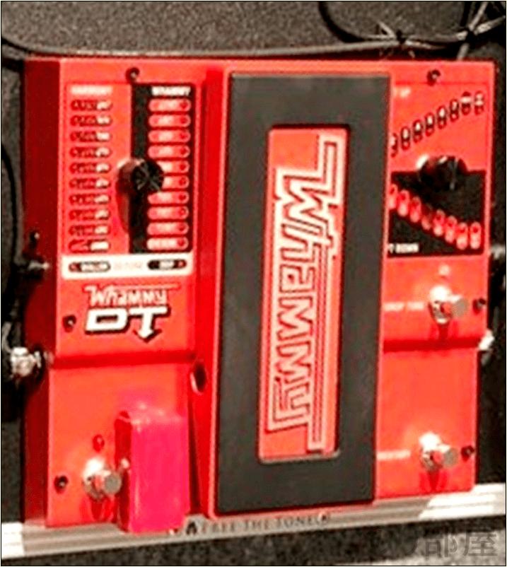 Digitech デジテック WHAMMY DT ワーミーDT 綾野剛(The XXXXXX)さんの ツマミ・ノブの位置【徹底紹介】綾野剛のエフェクターボード・機材を解析!ツマミ・ノブの位置も分かる!ギターを支える機材の数々を紹介!ギター。 #綾野剛 #thexxxxxx #ザシックス【金額一覧】
